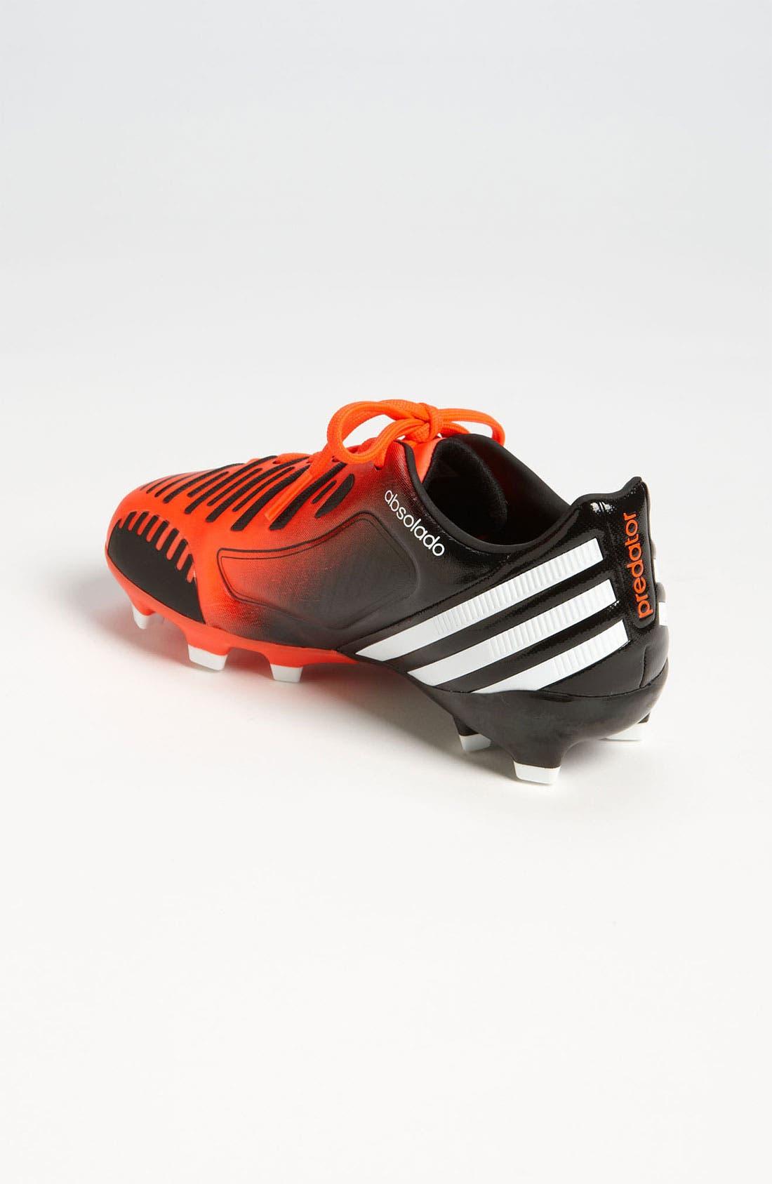 Alternate Image 2  - adidas 'Predator Absolado LX TRX FG' Soccer Cleats (Toddler, Little Kid & Big Kid)