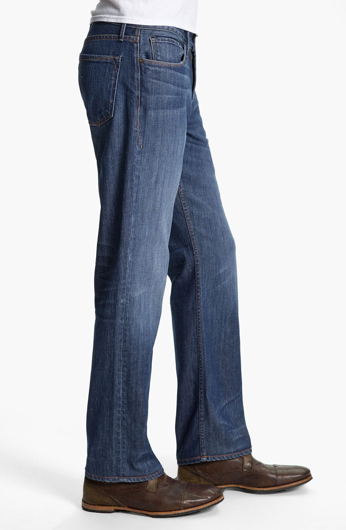 Alternate Image 3  - Earnest Sewn 'Dexter' Relaxed Leg Jeans (Burton)