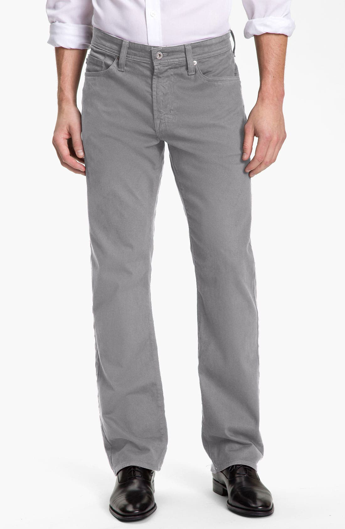 'Protégé SUD' Straight Leg Pants,                         Main,                         color, Stone Grey