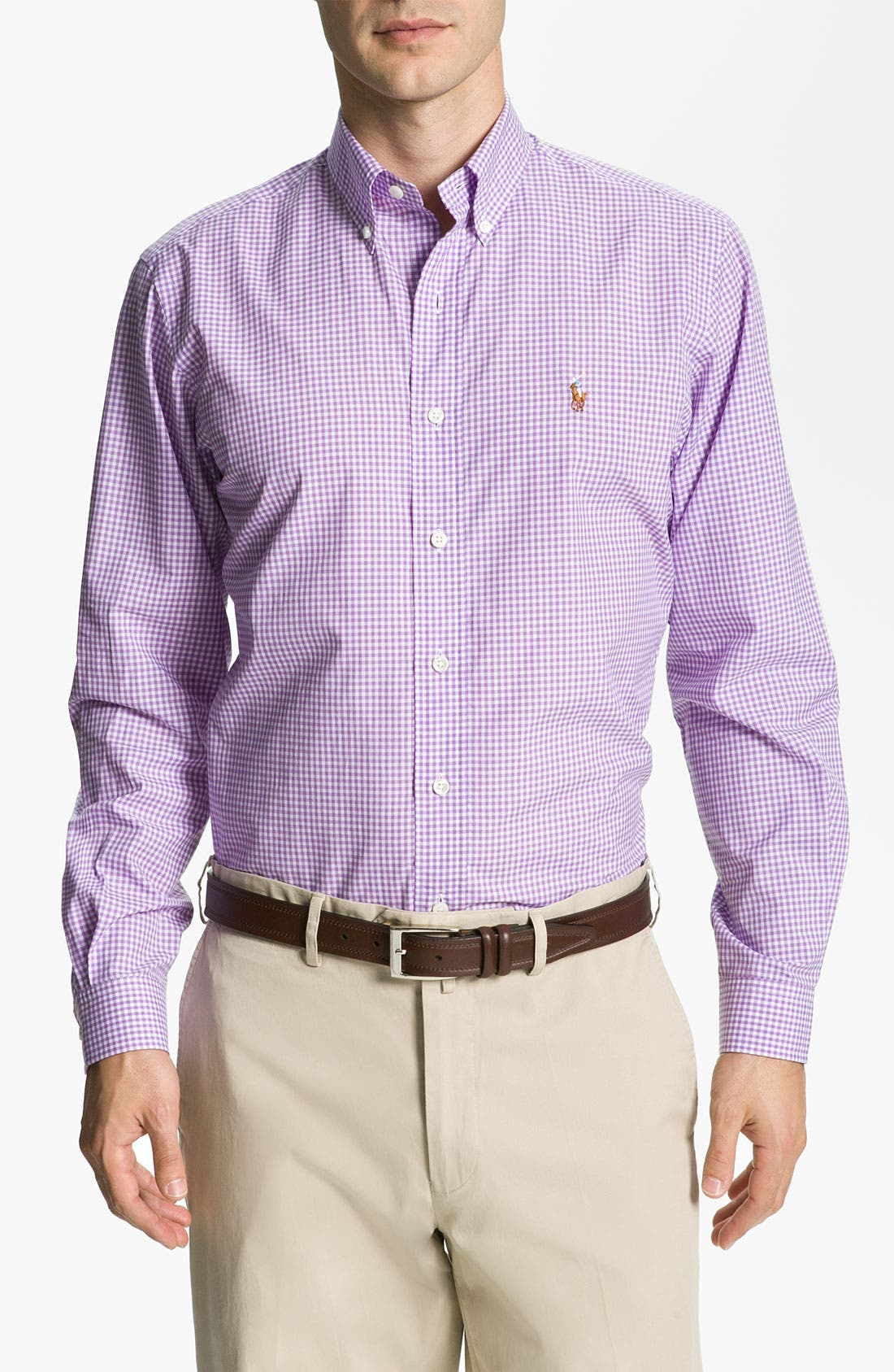 Alternate Image 1 Selected - Polo Ralph Lauren Check Sport Shirt