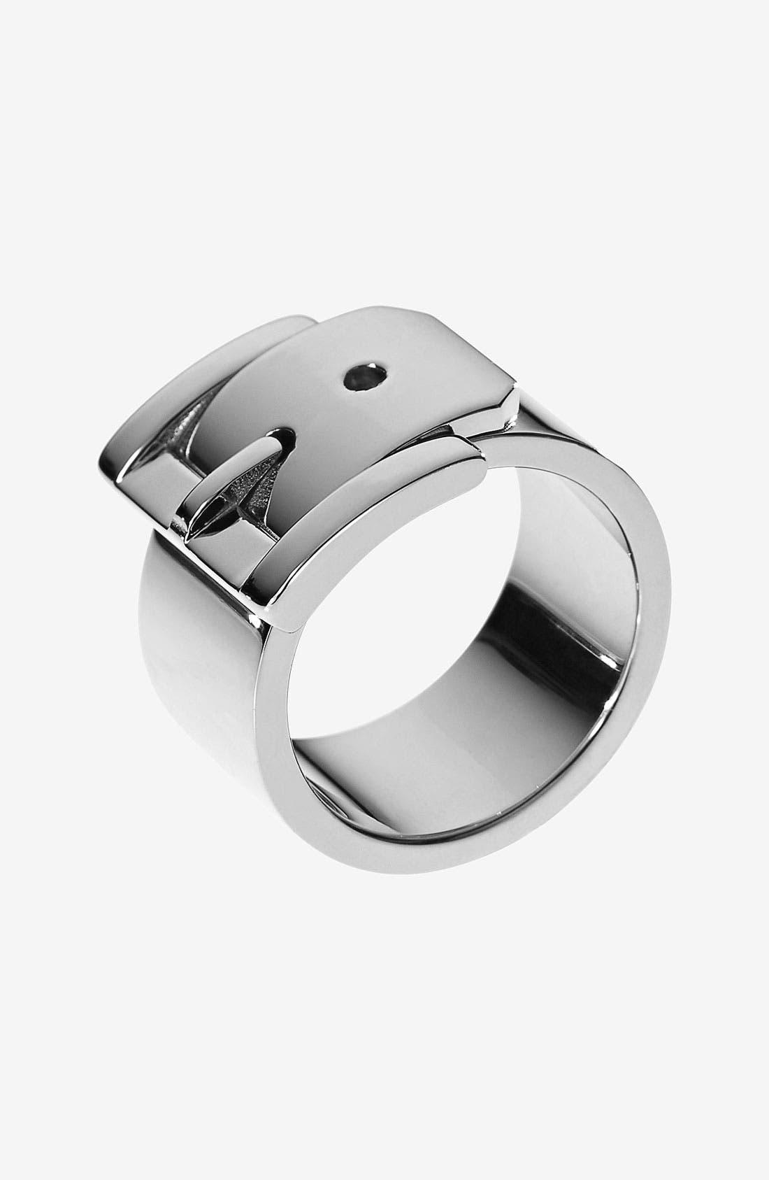Alternate Image 1 Selected - Michael Kors Buckle Barrel Ring