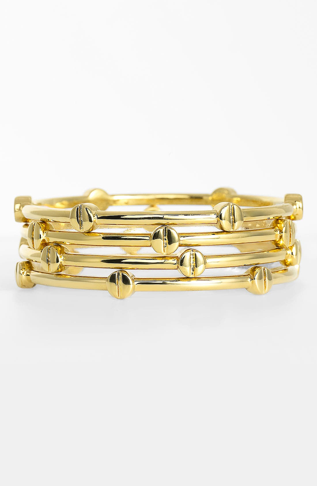 Alternate Image 1 Selected - Vince Camuto 'Basics' Bangles (Set of 4)