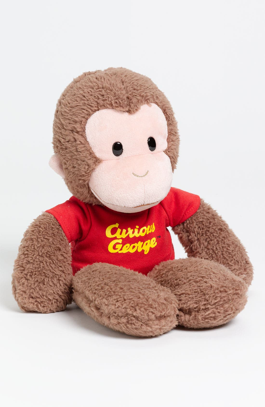 'Curious George<sup>®</sup>' Stuffed Animal,                             Main thumbnail 1, color,                             Brown