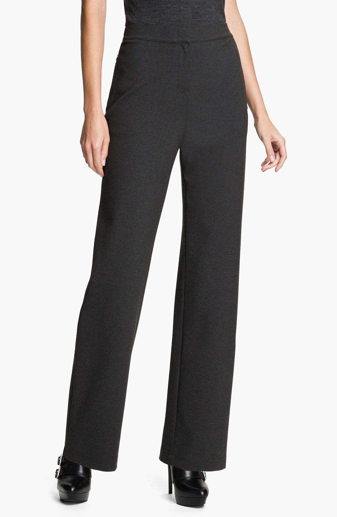 Alternate Image 1 Selected - Lafayette 148 New York Straight Leg Punto Milano Pants