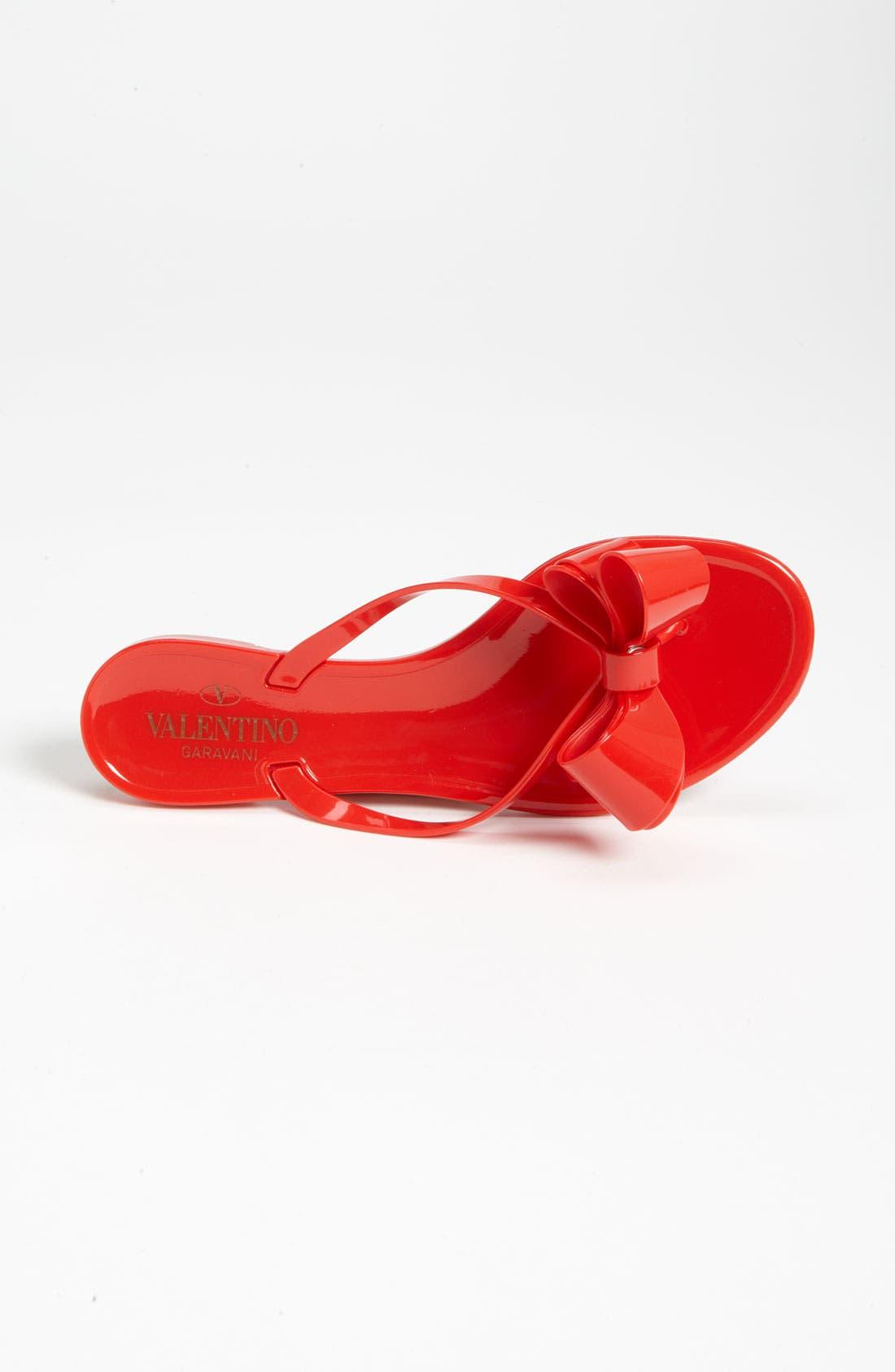 Alternate Image 3  - VALENTINO GARAVANI Couture Bow Thong Sandal (Women)