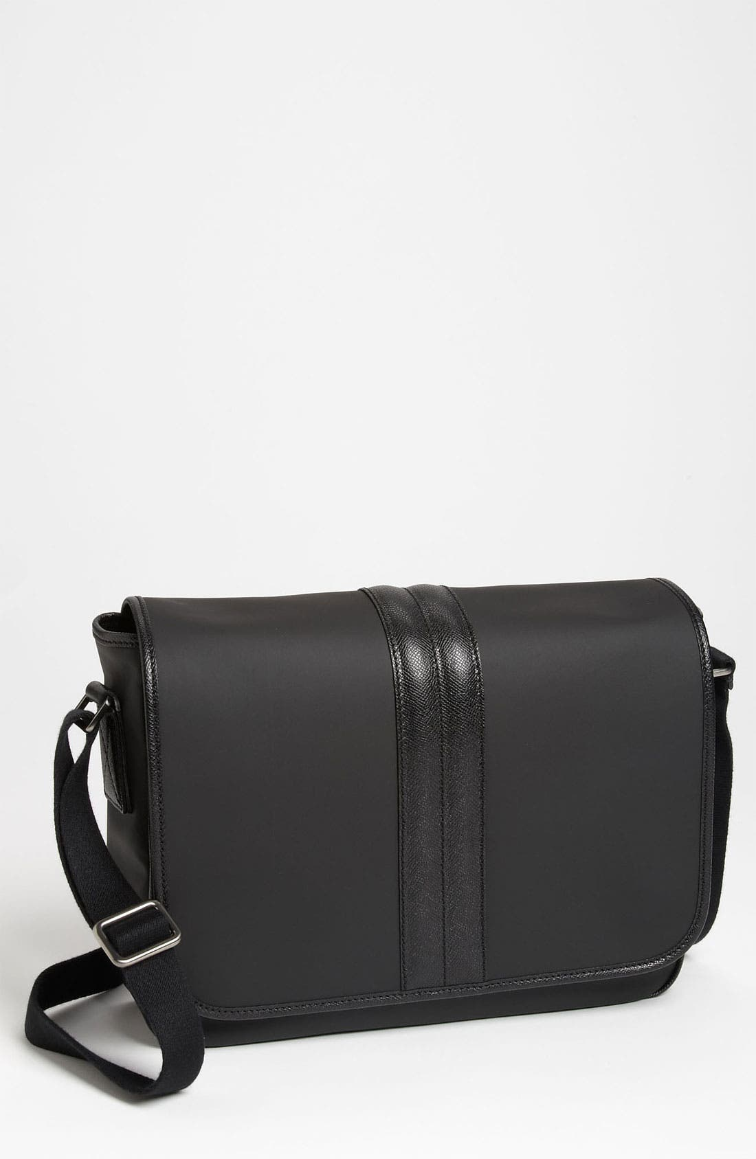 Main Image - Tod's Coated Cotton Messenger Bag