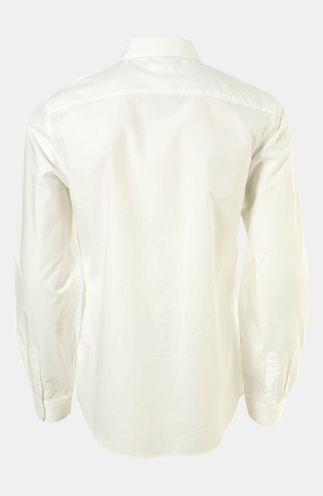 Alternate Image 2  - Topman 'Smart' Extra Trim Dress Shirt