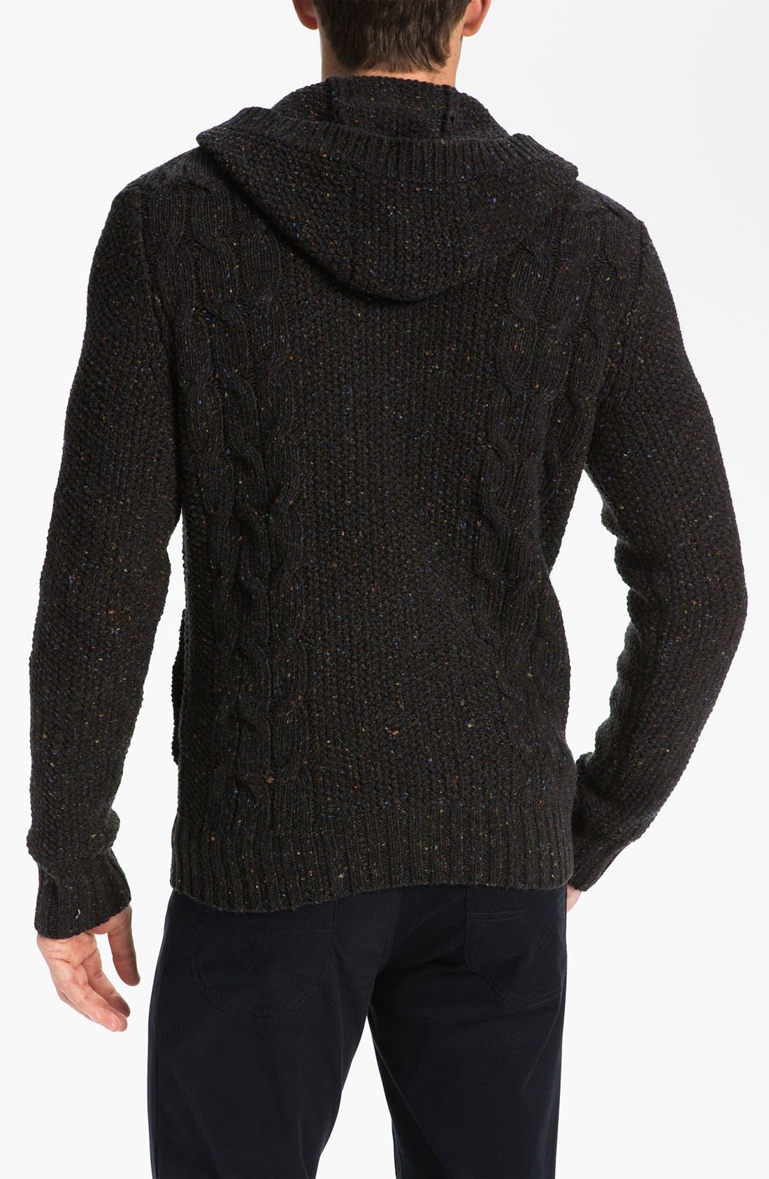 Alternate Image 2  - Vince Knit Hooded Sweater