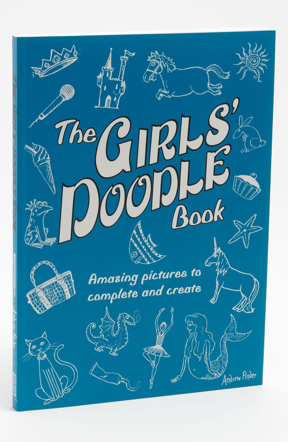 Alternate Image 1 Selected - Andrew Pinder 'The Girls' Doodle Book' Art Book (Girls)