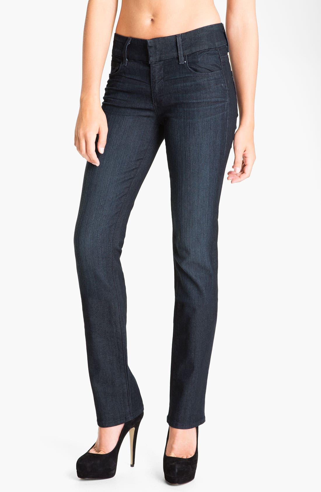 Main Image - Paige Denim 'Kennedy' Straight Leg Stretch Jeans (Tonal Stream)
