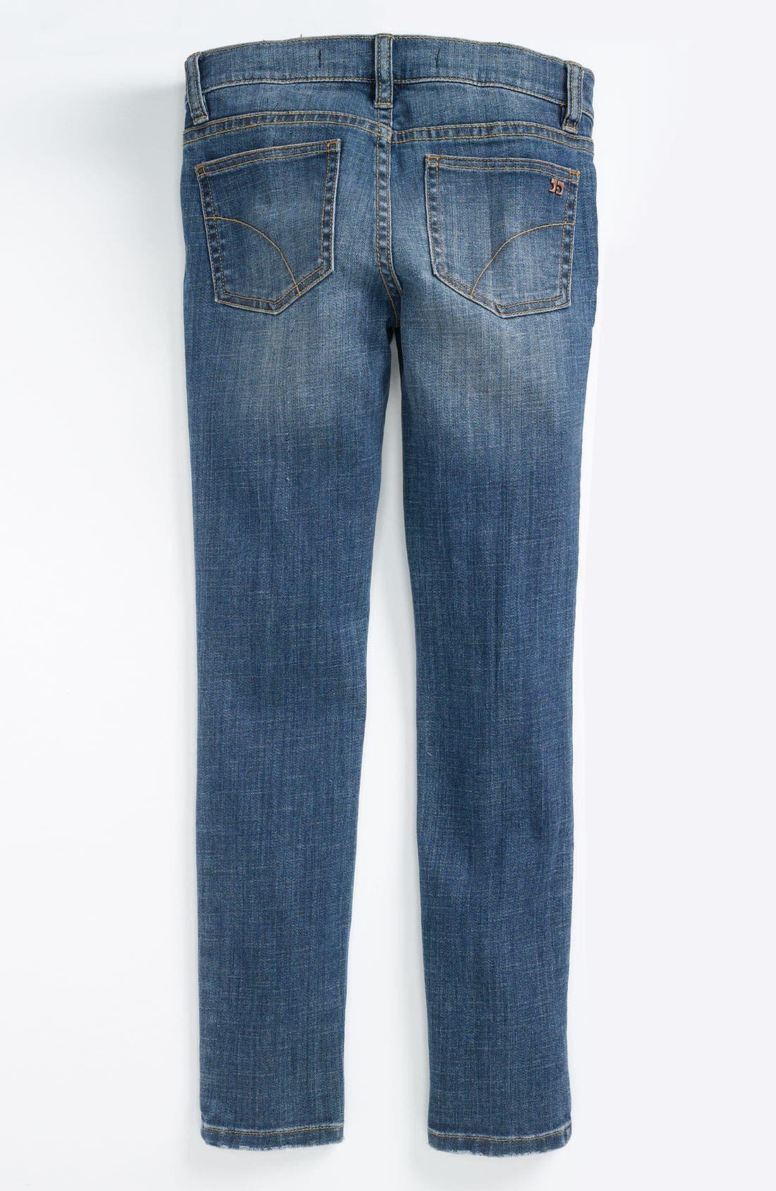 Alternate Image 1 Selected - Joe's Skinny Denim Leggings (Little Girls)