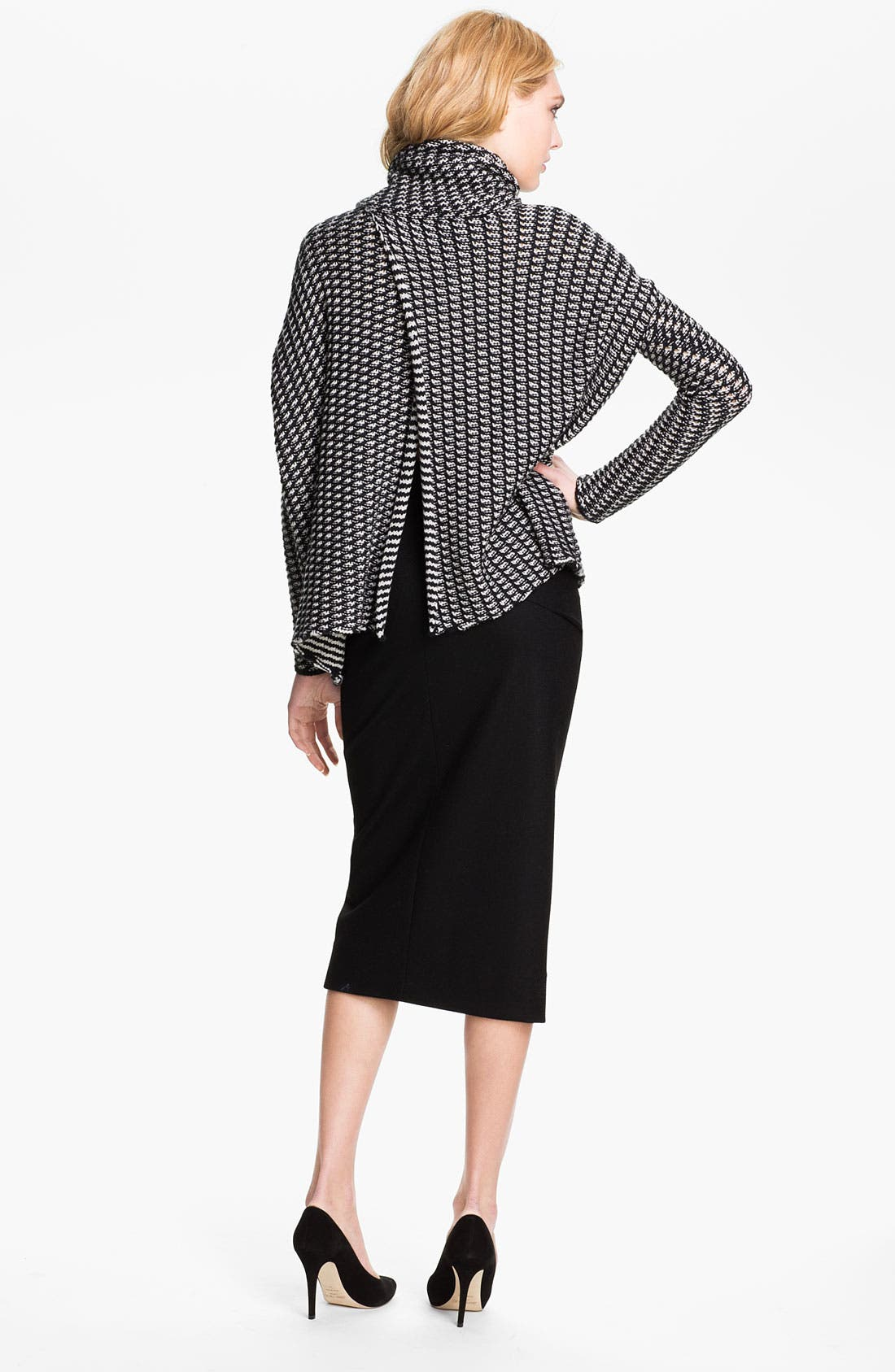 Alternate Image 2  - Diane von Furstenberg 'Ahiga' Sweater Cape