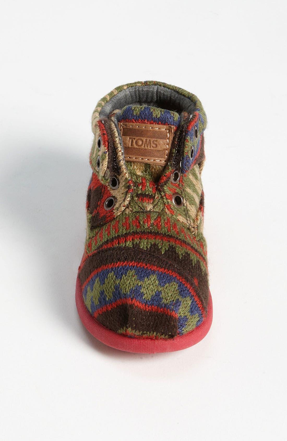 Alternate Image 3  - TOMS 'Botas Tiny - Kilim' Boot (Baby, Walker & Toddler)