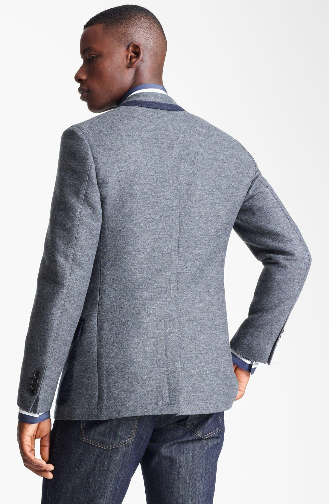 Alternate Image 2  - Salvatore Ferragamo 'Giacca Monopetto' Wool Blend Sportcoat