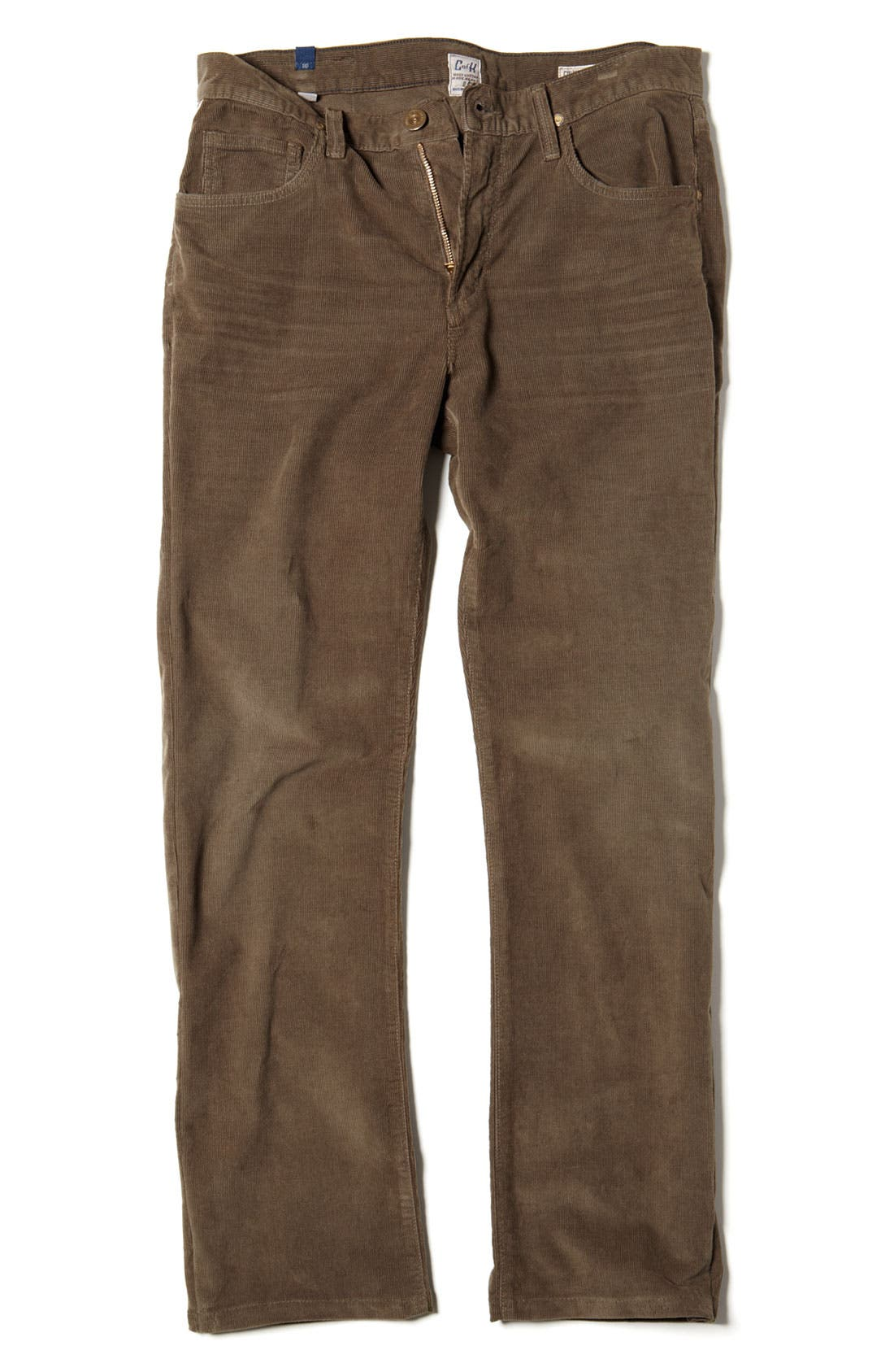 Alternate Image 3  - Citizens of Humanity 'Sid' Straight Leg Corduroy Pants