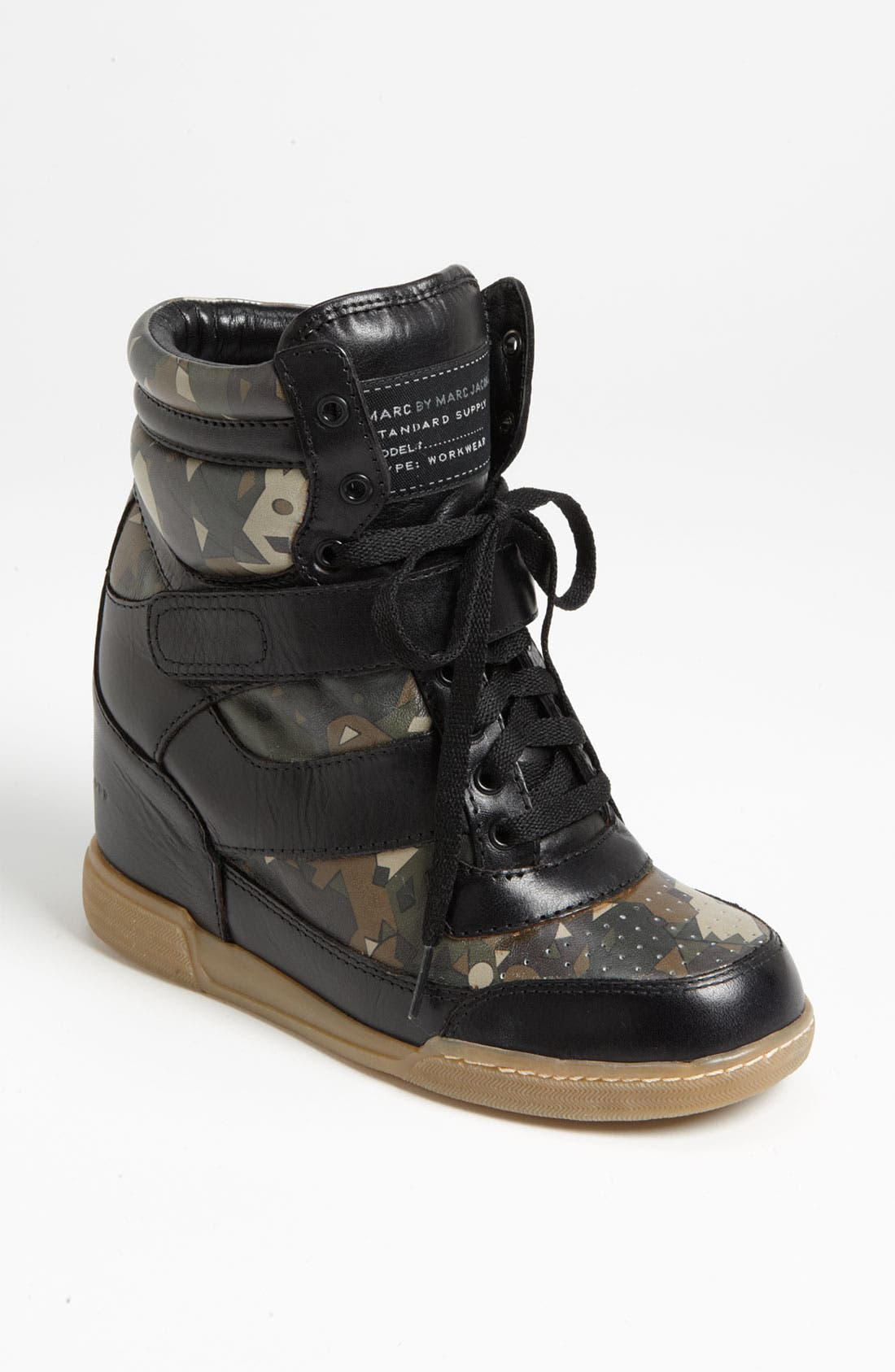 Alternate Image 1 Selected - MARC BY MARC JACOBS High Top Wedge Sneaker