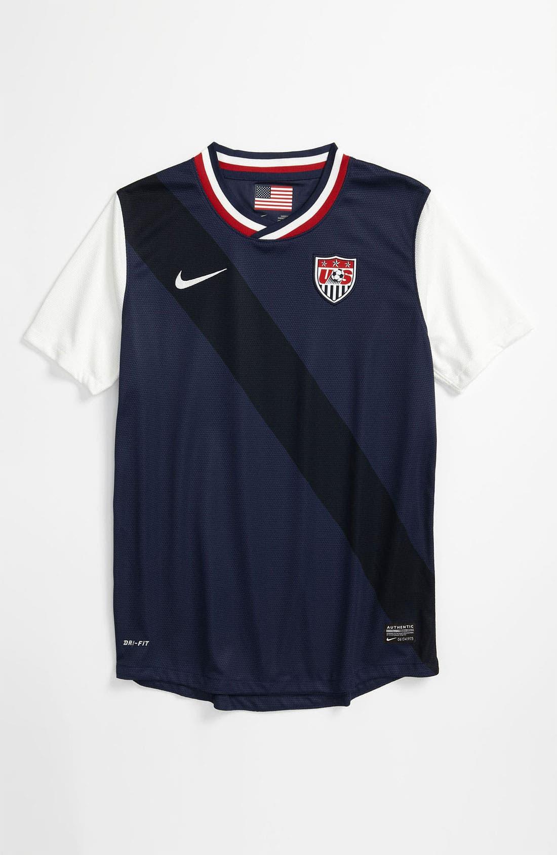 Main Image - Nike 'USA Away' Dri-FIT Jersey (Big Boys)