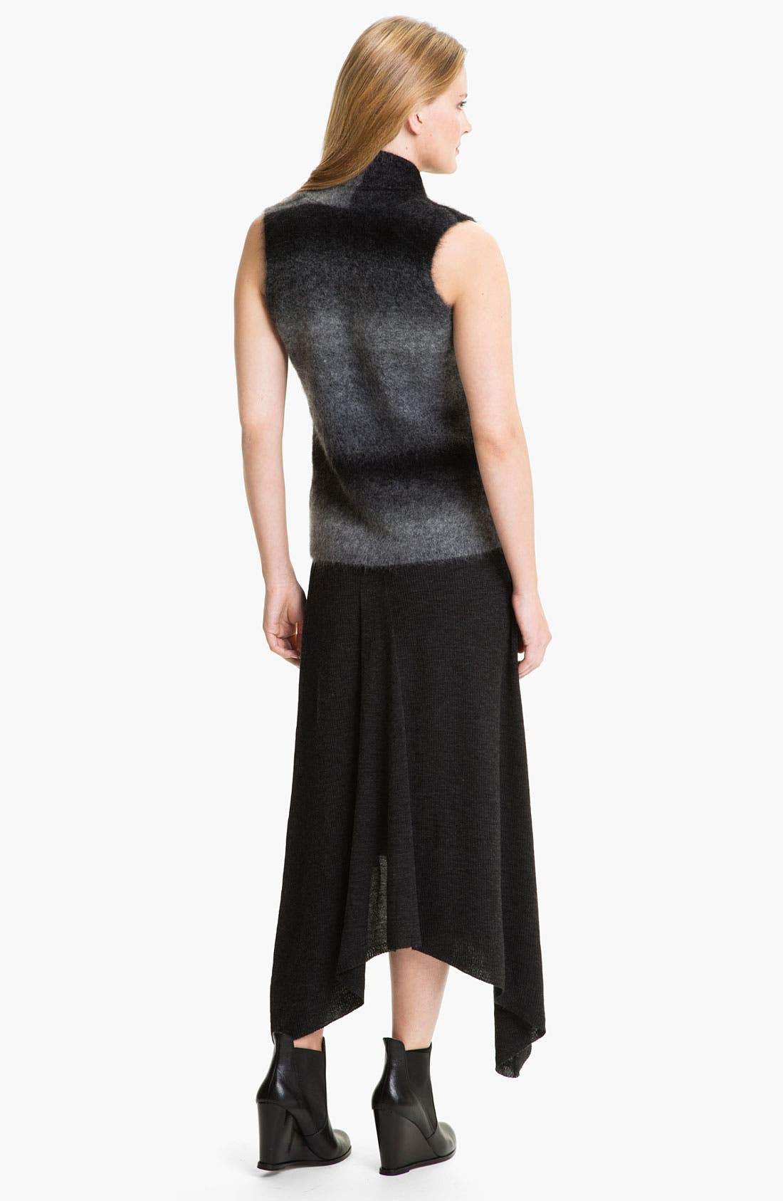 Alternate Image 5  - Eileen Fisher Merino Jersey Rib Knit Skirt