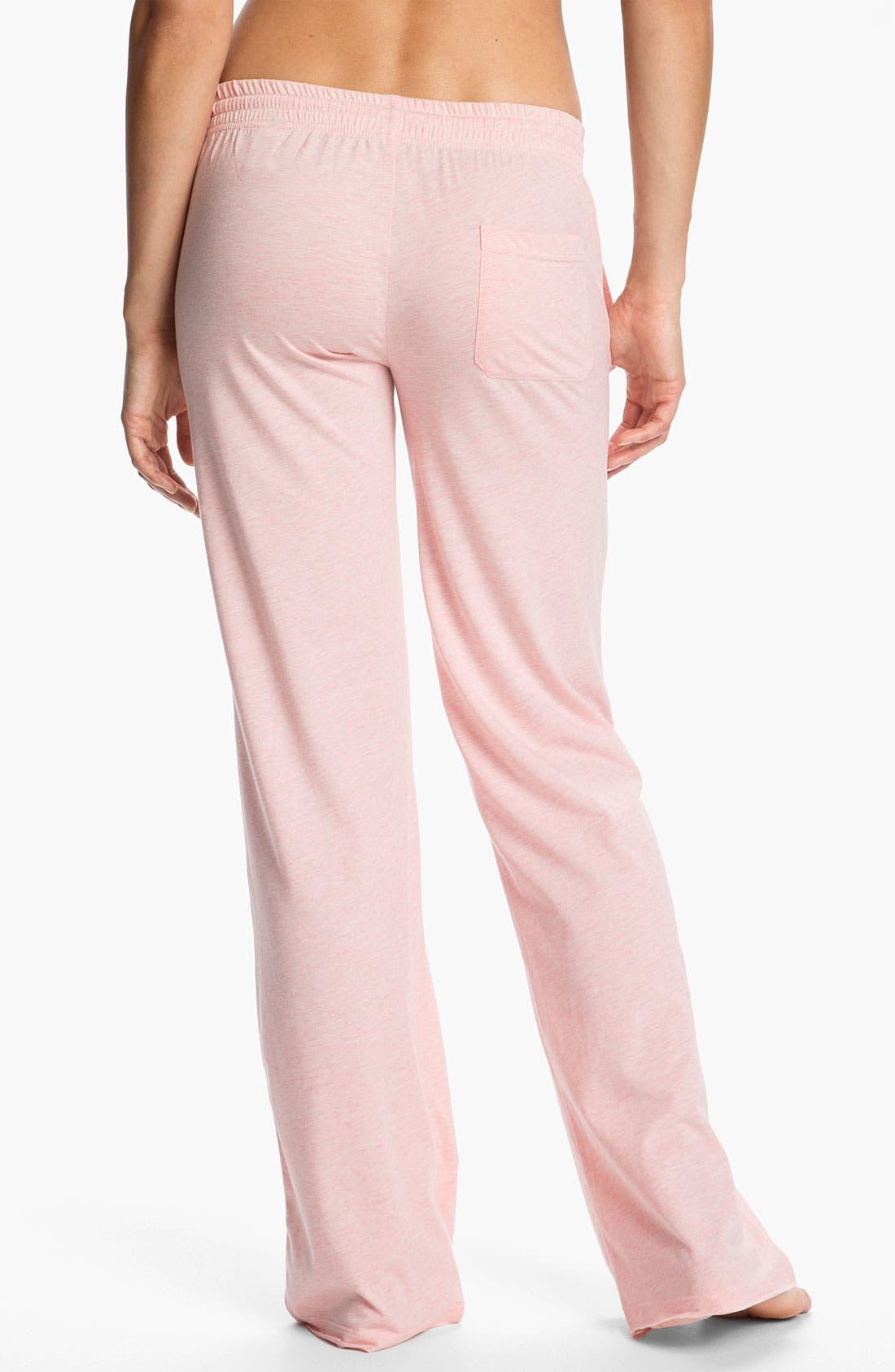 Alternate Image 2  - Daniel Buchler Heather Knit Lounge Pants