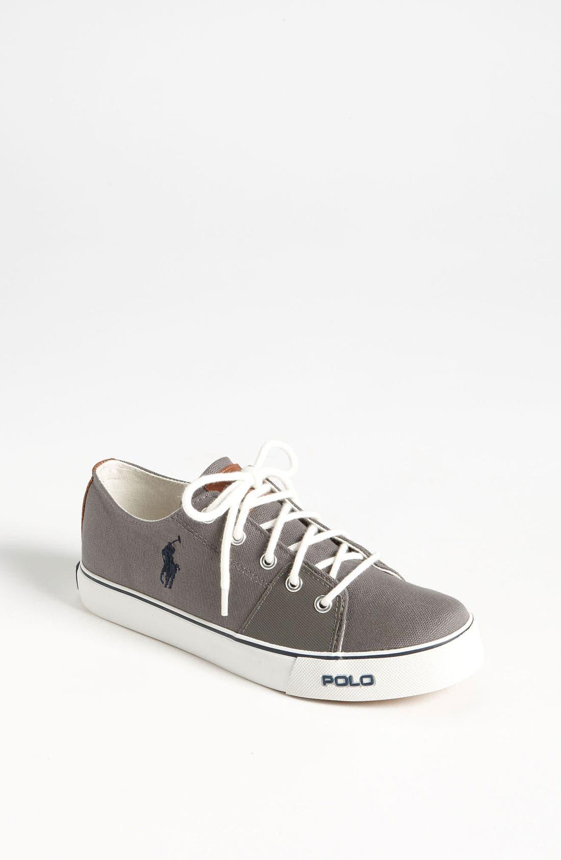 Alternate Image 1 Selected - Ralph Lauren Sneaker (Toddler, Little Kid & Big Kid)