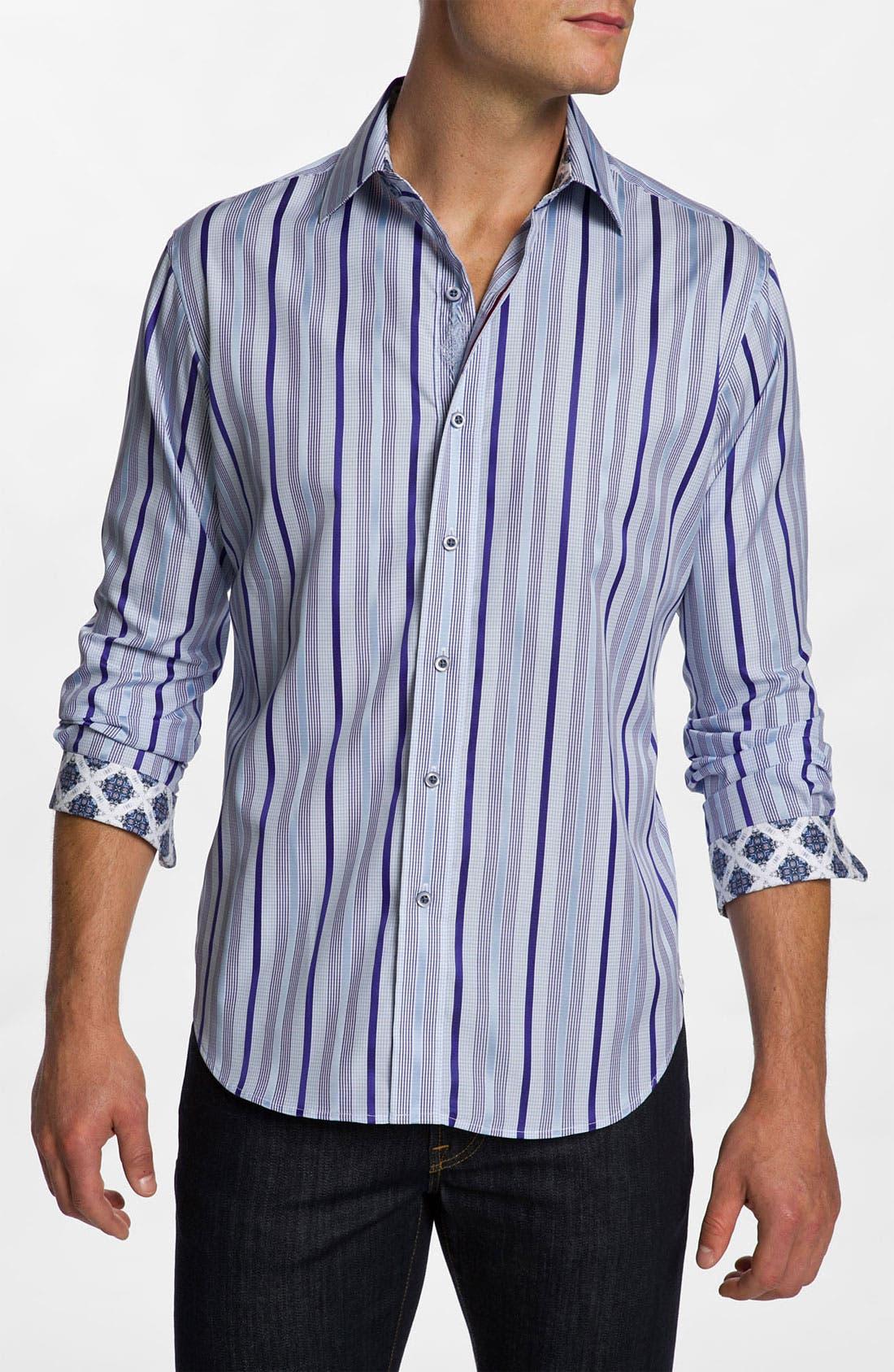 Alternate Image 1 Selected - Robert Graham 'Buckingham' Sport Shirt