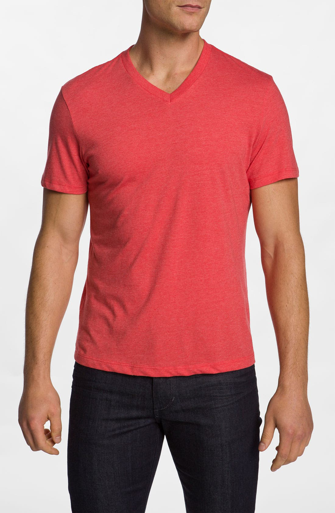 Main Image - The Rail Trim Fit V-Neck T-Shirt