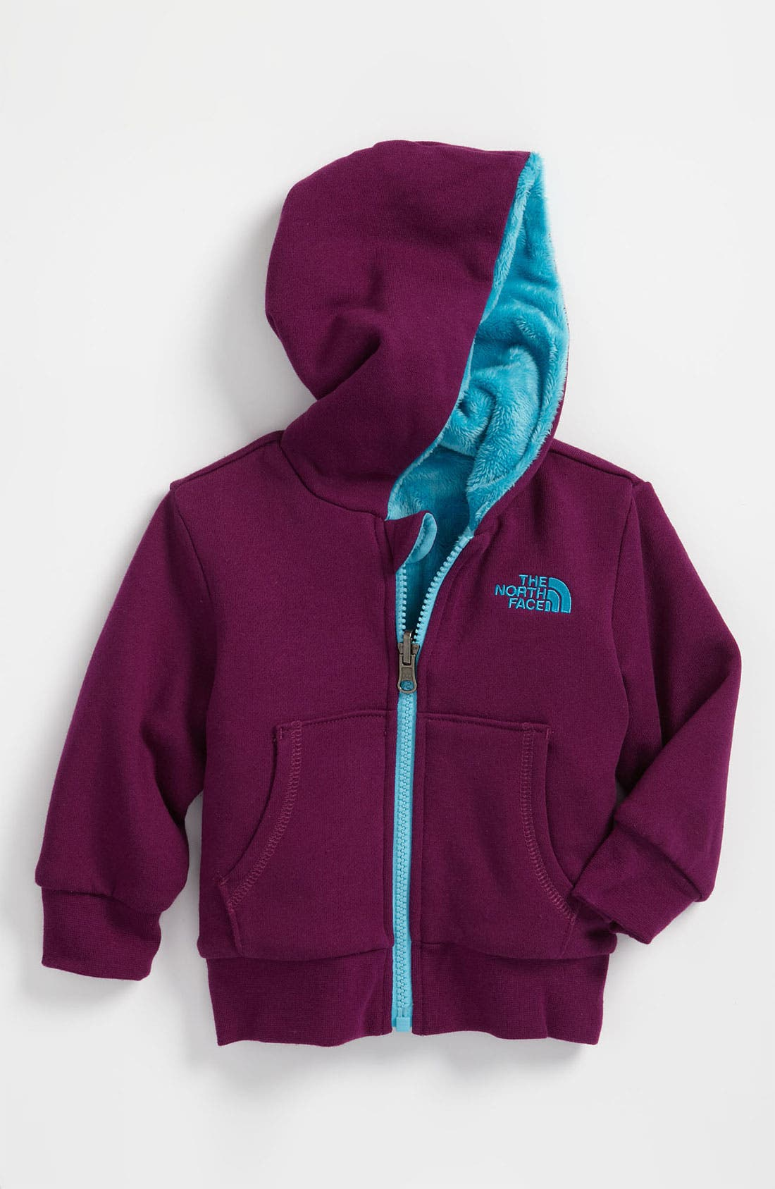 Alternate Image 1 Selected - The North Face 'Elloise' Reversible Hoodie (Infant)