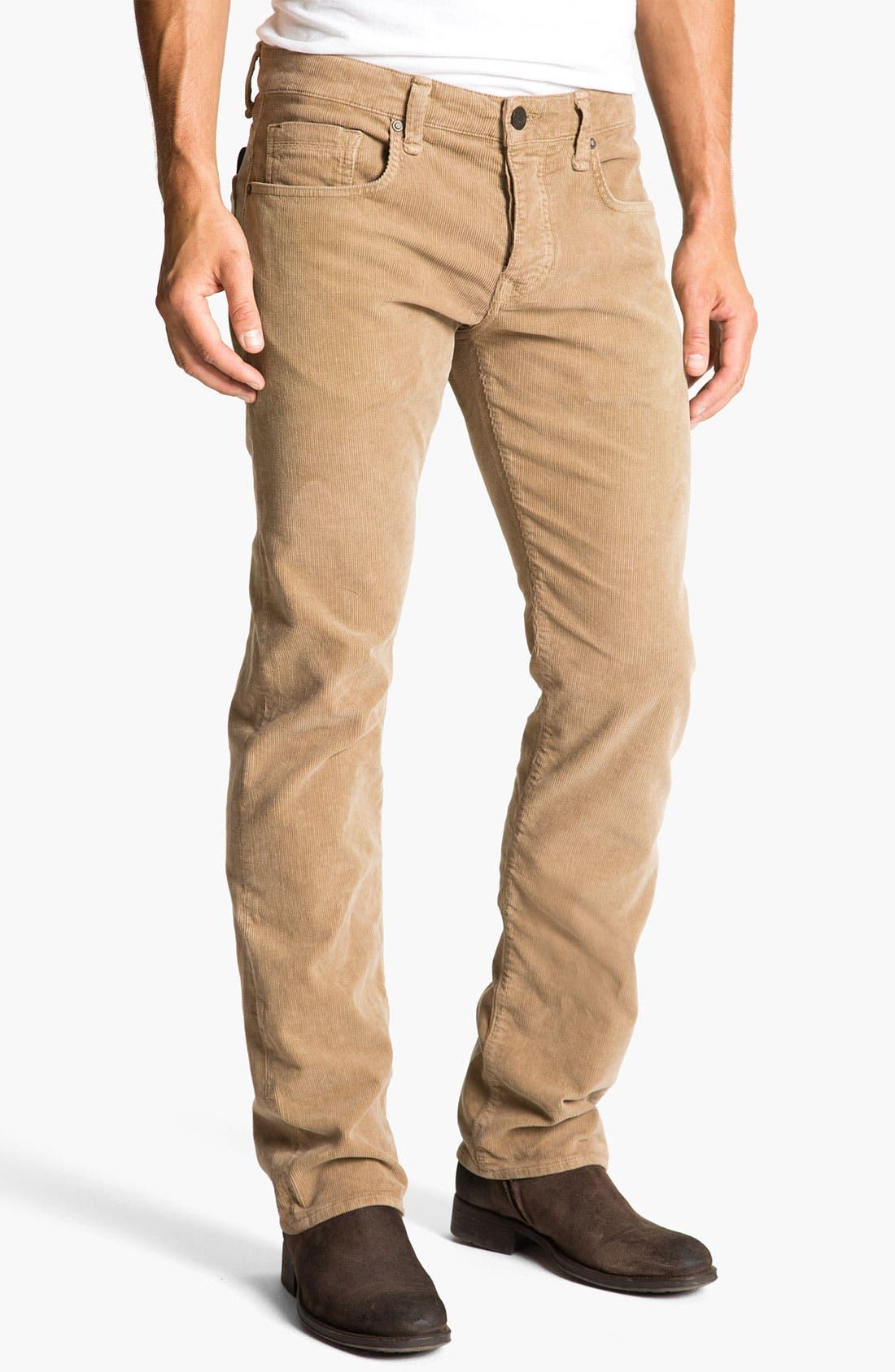 Alternate Image 2  - Mavi Jeans 'Zach' Straight Leg Corduroy Pants