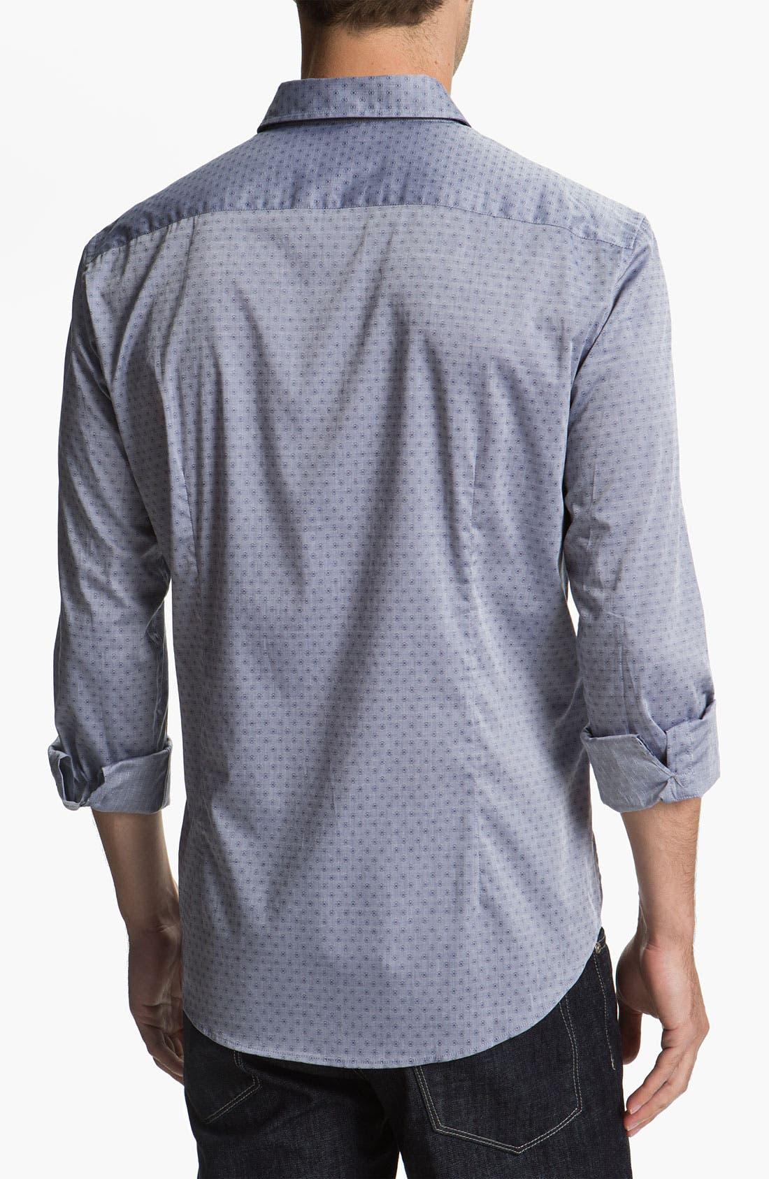 Alternate Image 2  - BOSS Black 'Peric' Slim Fit Sport Shirt