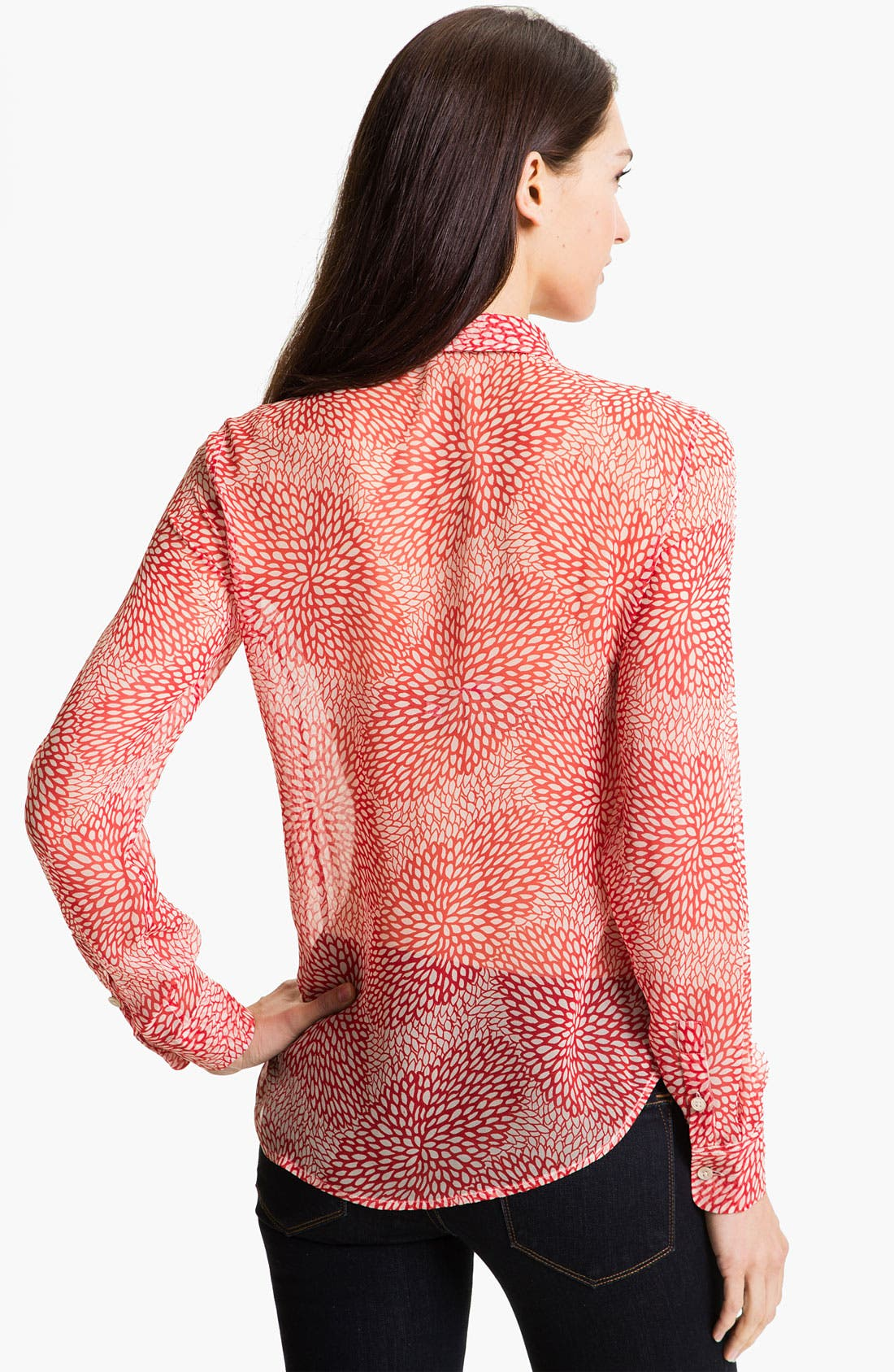 Alternate Image 2  - Equipment 'Sophie' Sheer Silk Shirt