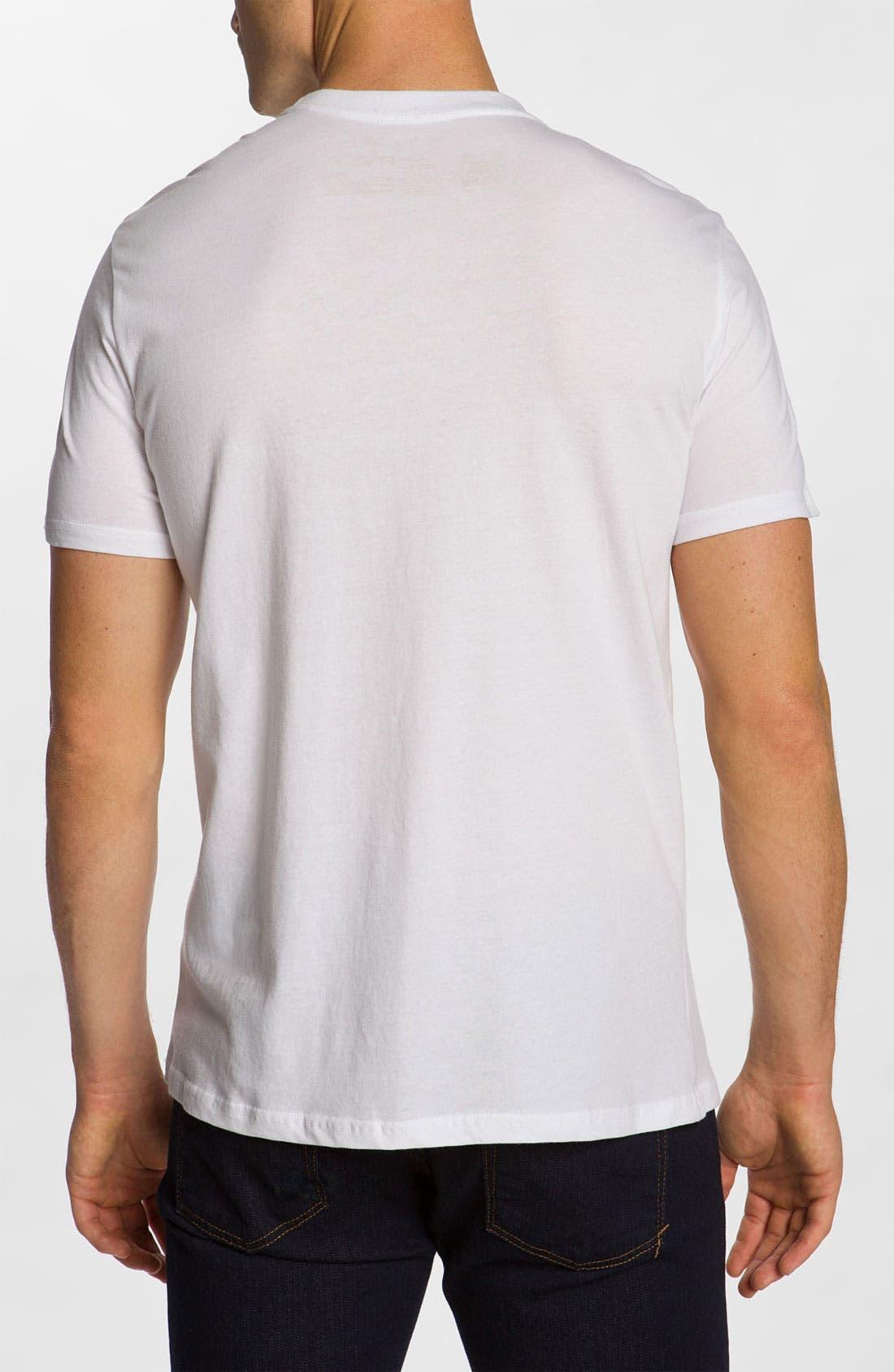 Alternate Image 2  - RVCA 'Eecat Crest' T-Shirt