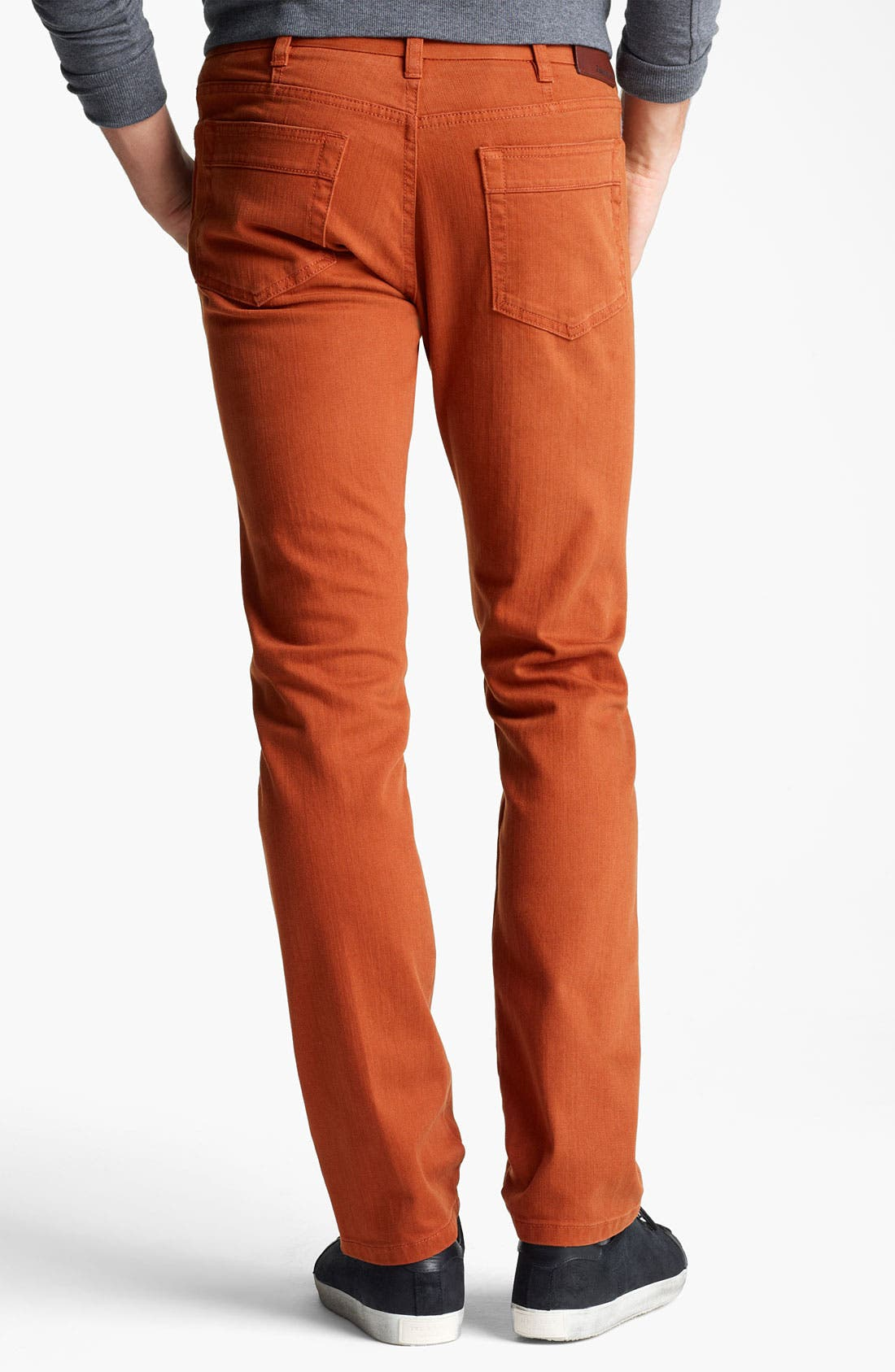 Alternate Image 2  - Zegna Sport Straight Leg Jeans