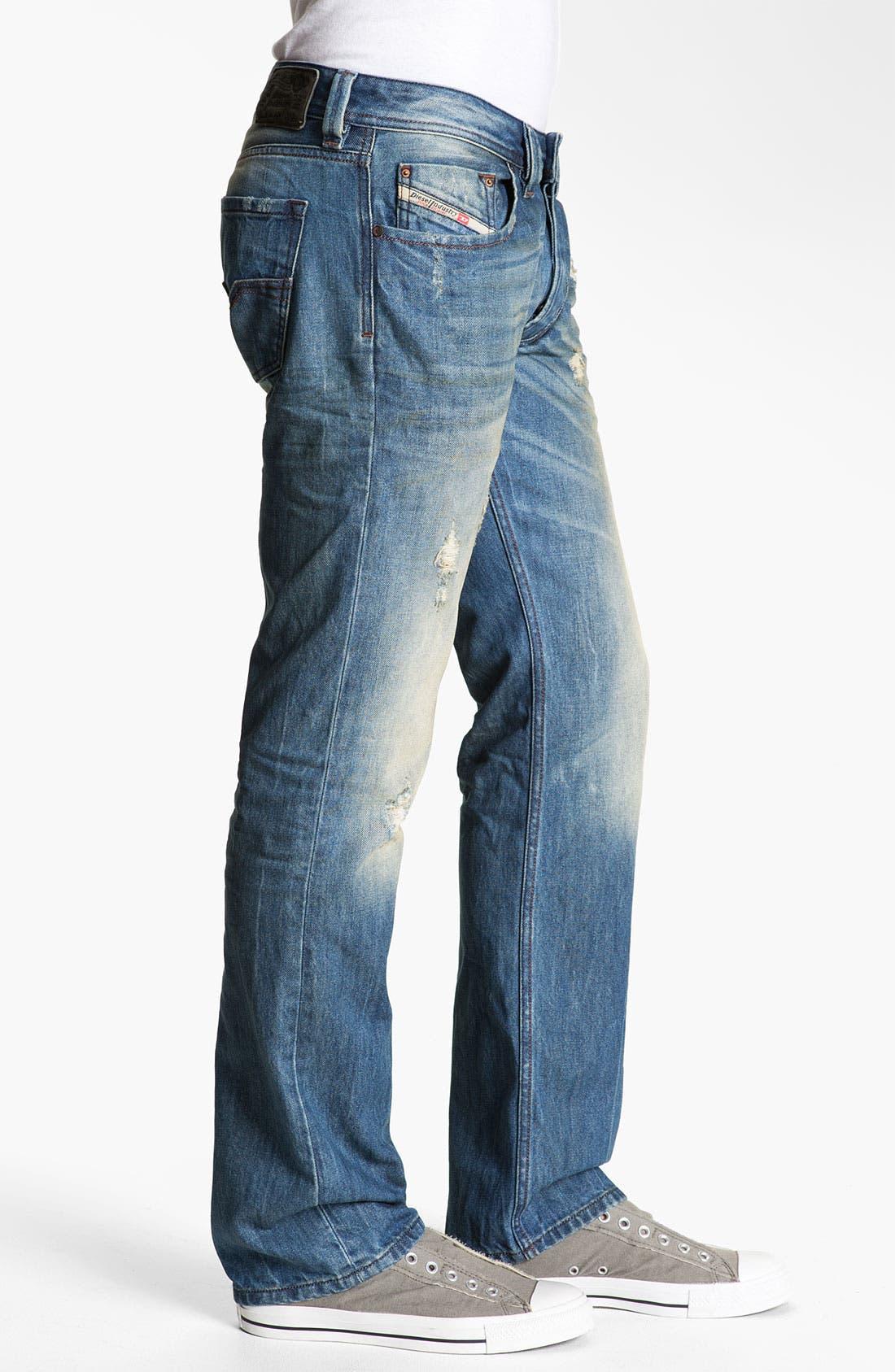 Alternate Image 3  - DIESEL® 'Larkee' Straight Leg Jeans (0075I)