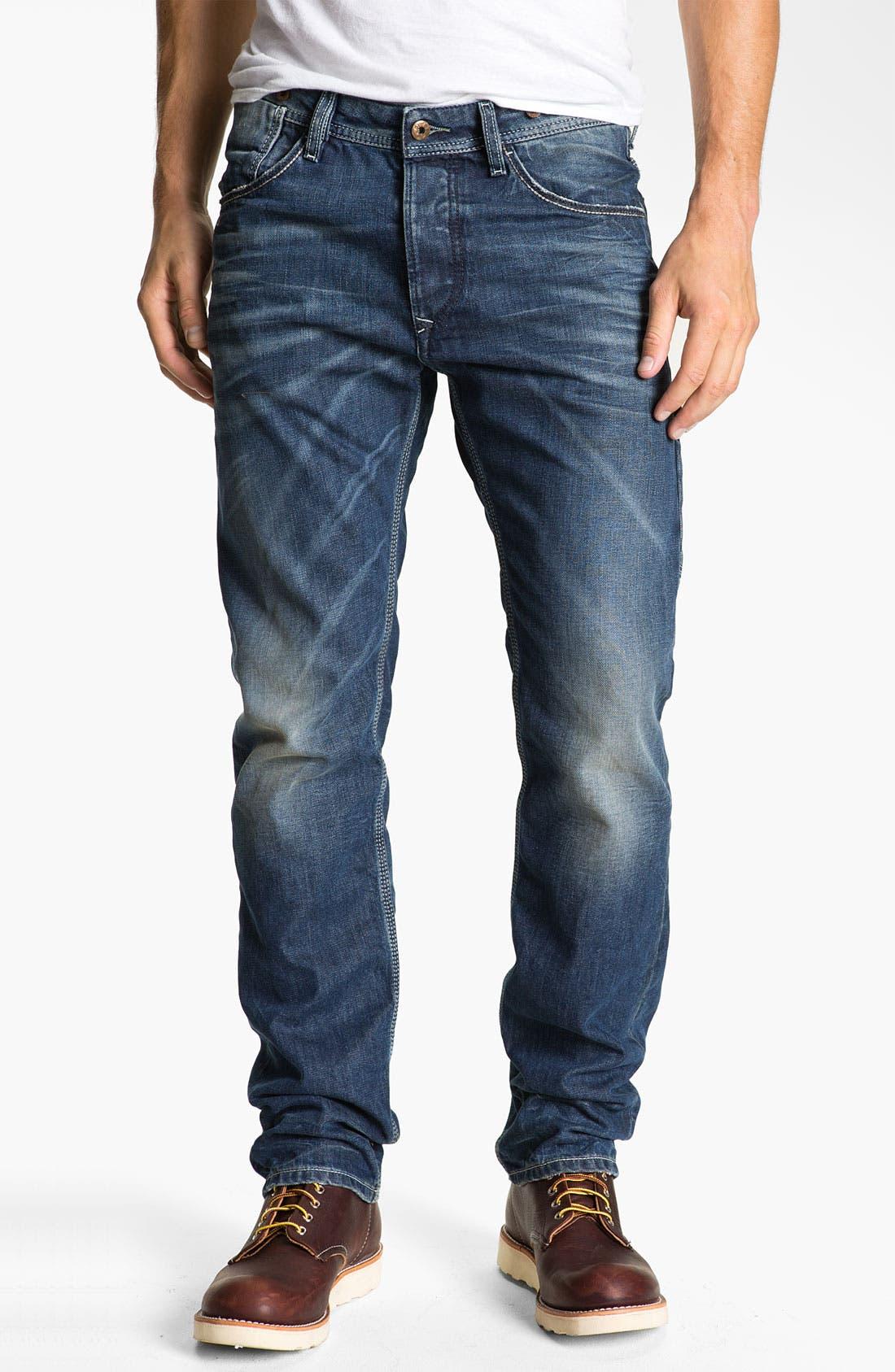 Alternate Image 2  - DIESEL® 'Ty-Tool' Straight Leg Jeans (0804N)
