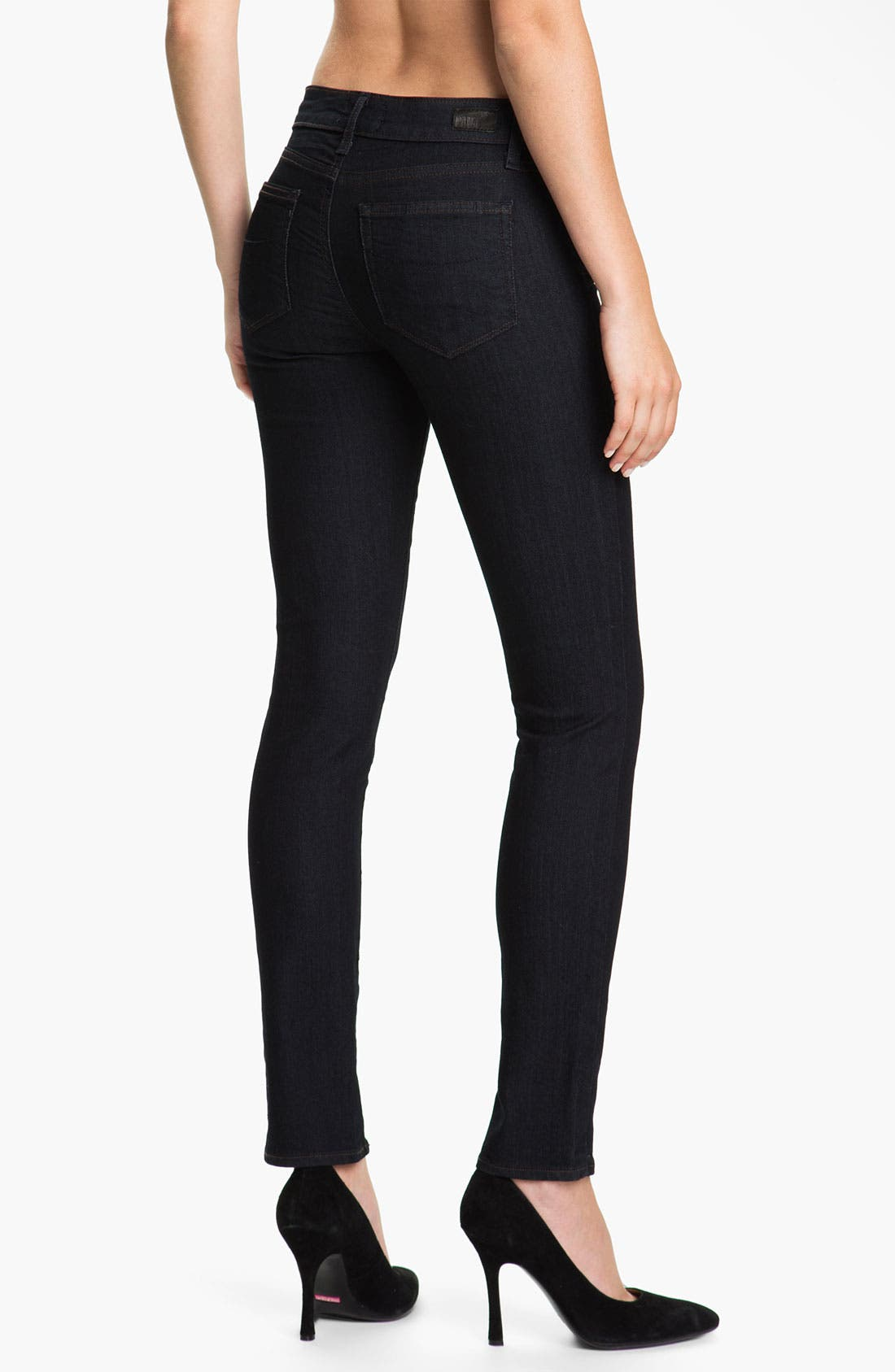 Alternate Image 2  - Paige Denim 'Skyline 12' Skinny Stretch Jeans (Twilight)