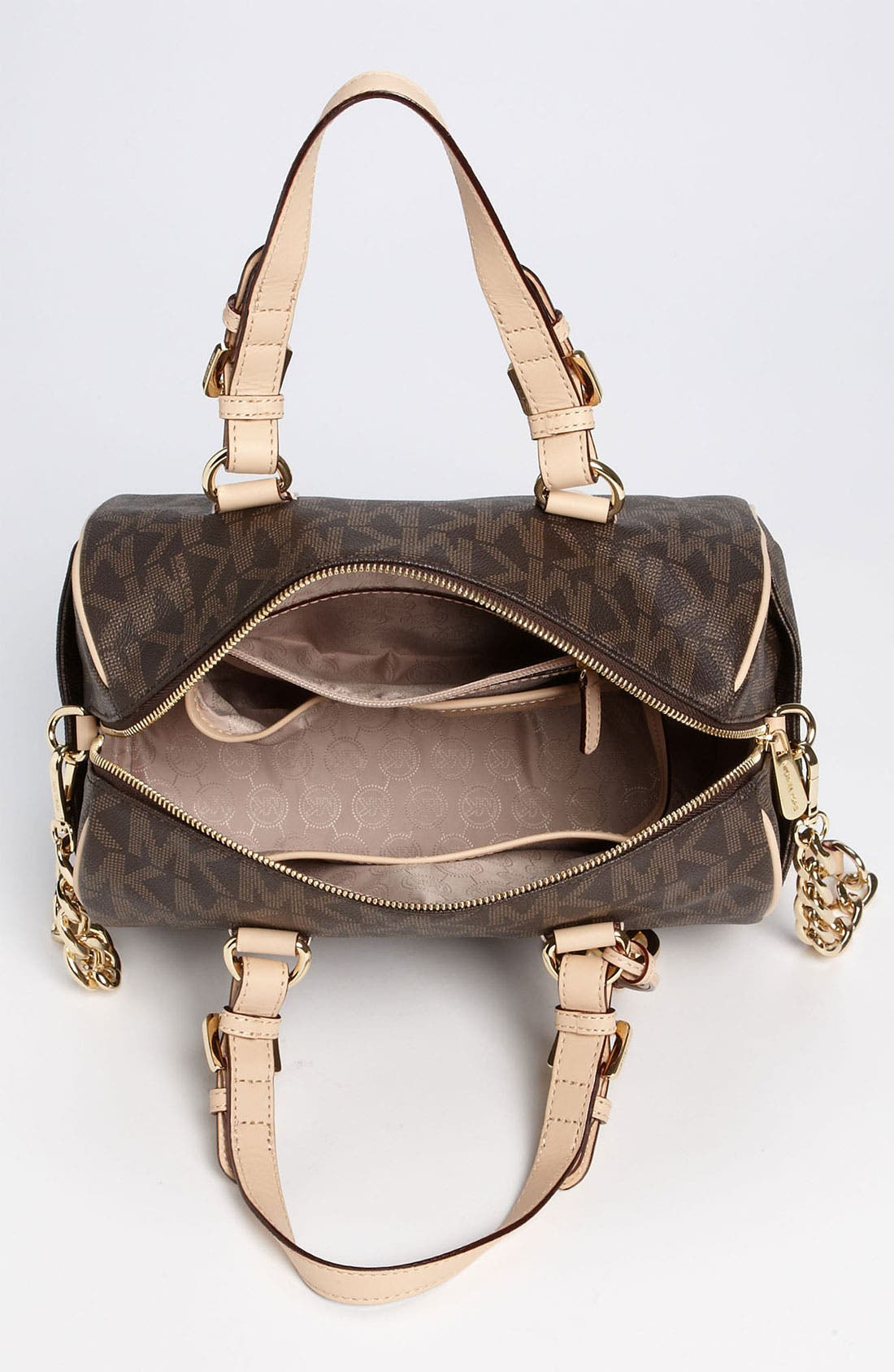 Alternate Image 3  - MICHAEL Michael Kors 'Grayson Logo - Chain' Satchel