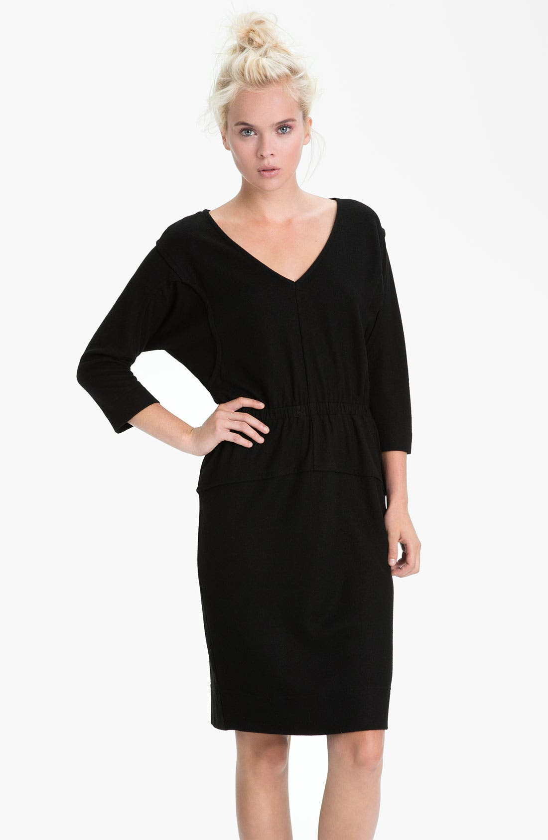 Main Image - MARC BY MARC JACOBS 'Fiona' Seamed Dolman Sleeve Wool Dress