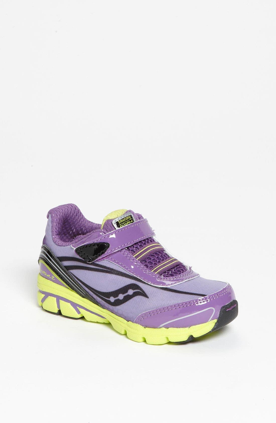 Alternate Image 1 Selected - Saucony 'Kinvara 2' Athletic Shoe (Baby, Walker & Toddler)