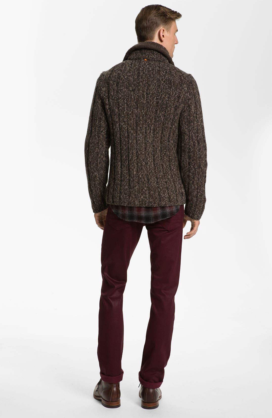 Alternate Image 5  - BOSS Orange Wool Sweater