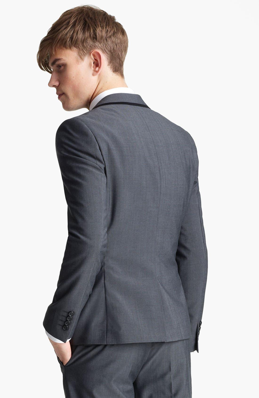 Alternate Image 2  - Topman 'Novak' Skinny Blazer