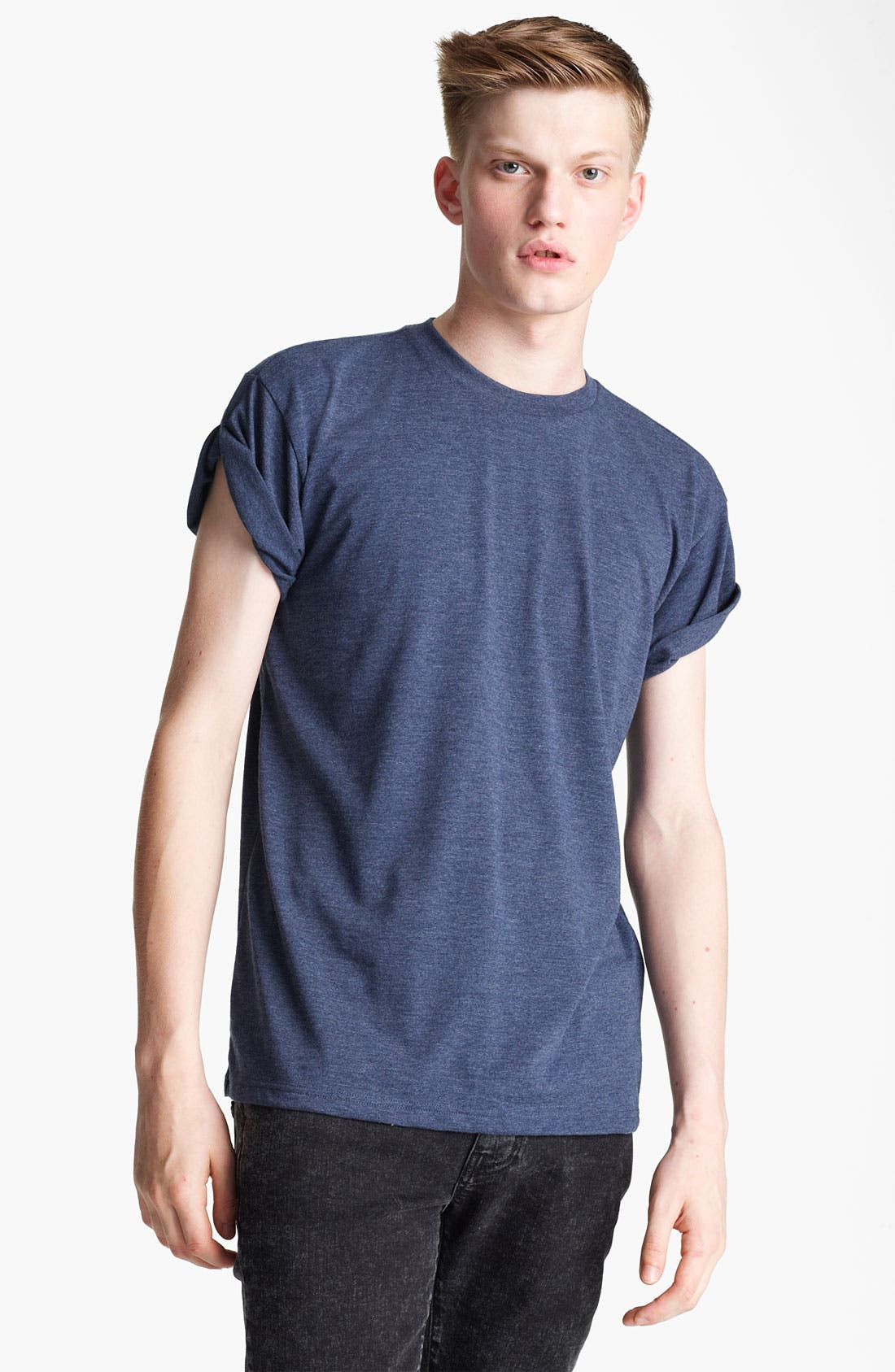 Alternate Image 1 Selected - Topman 'High Roller' Crewneck T-Shirt