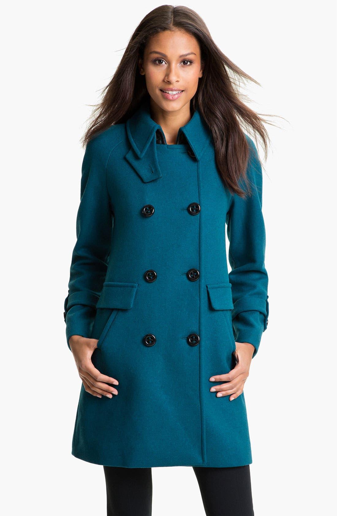 Main Image - Trina Turk Double Breasted Coat