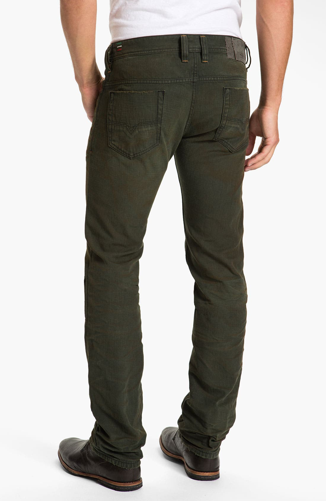 Alternate Image 1 Selected - DIESEL® 'Safado' Straight Leg Jeans