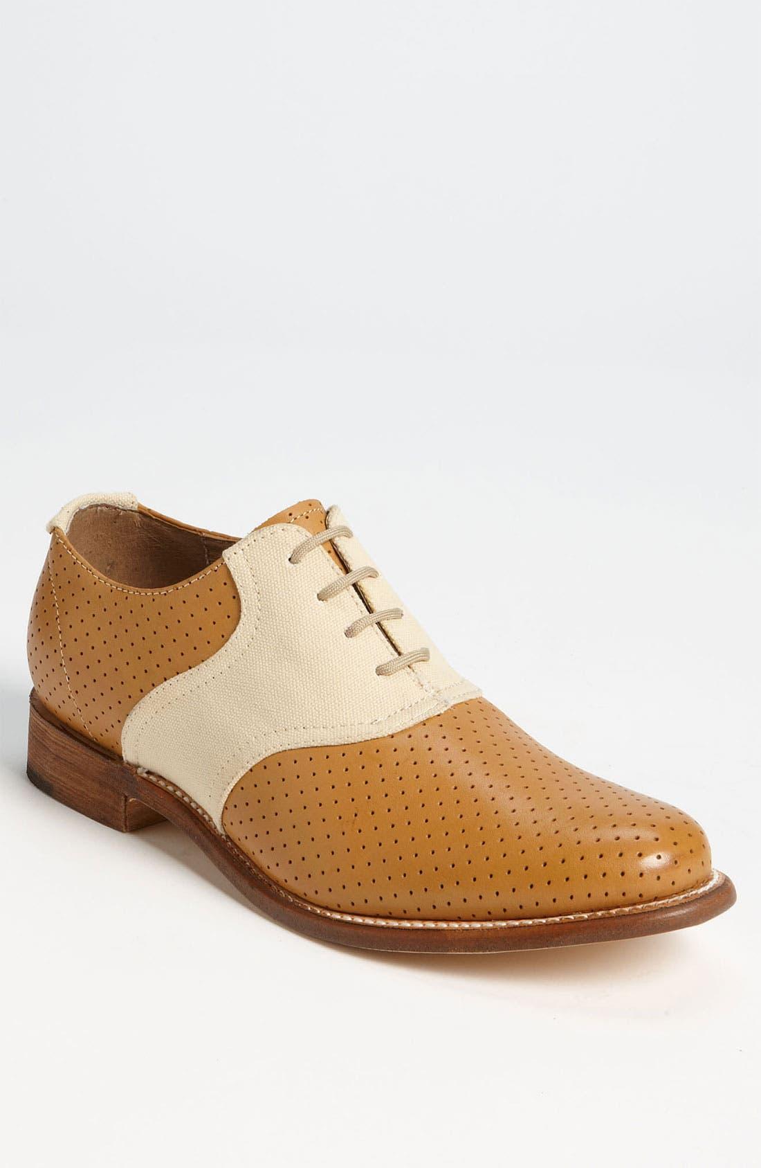 Alternate Image 1 Selected - J.D. Fisk 'Nikko' Saddle Shoe