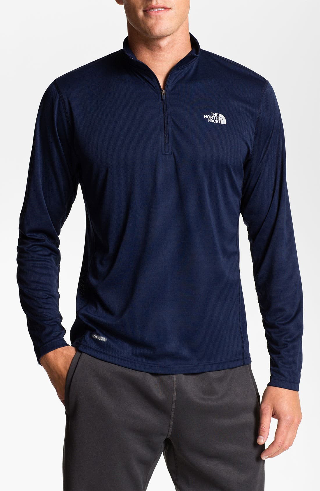 Alternate Image 1 Selected - The North Face 'Flex' Quarter Zip Jacket