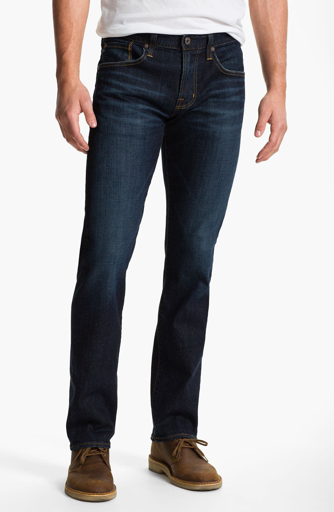 Alternate Image 1 Selected - AG 'Matchbox' Slim Fit Jeans (Robinson)