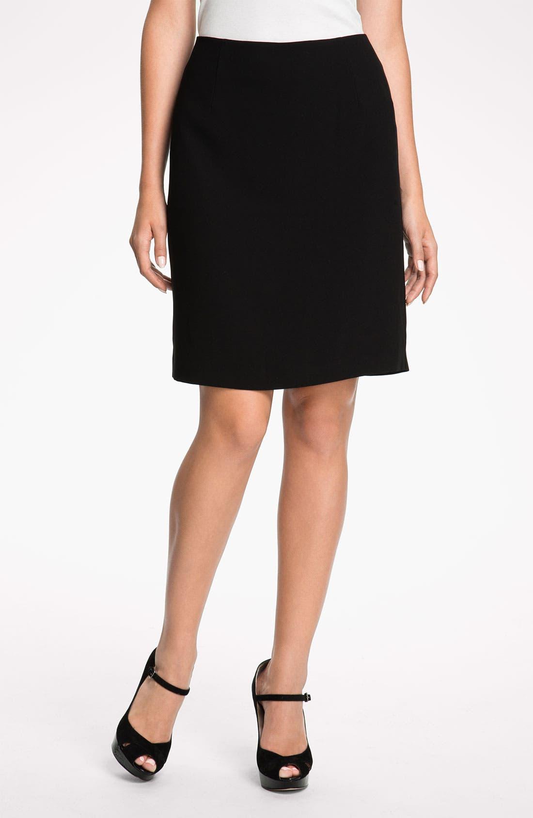 Alternate Image 1 Selected - Eileen Fisher Straight Skirt