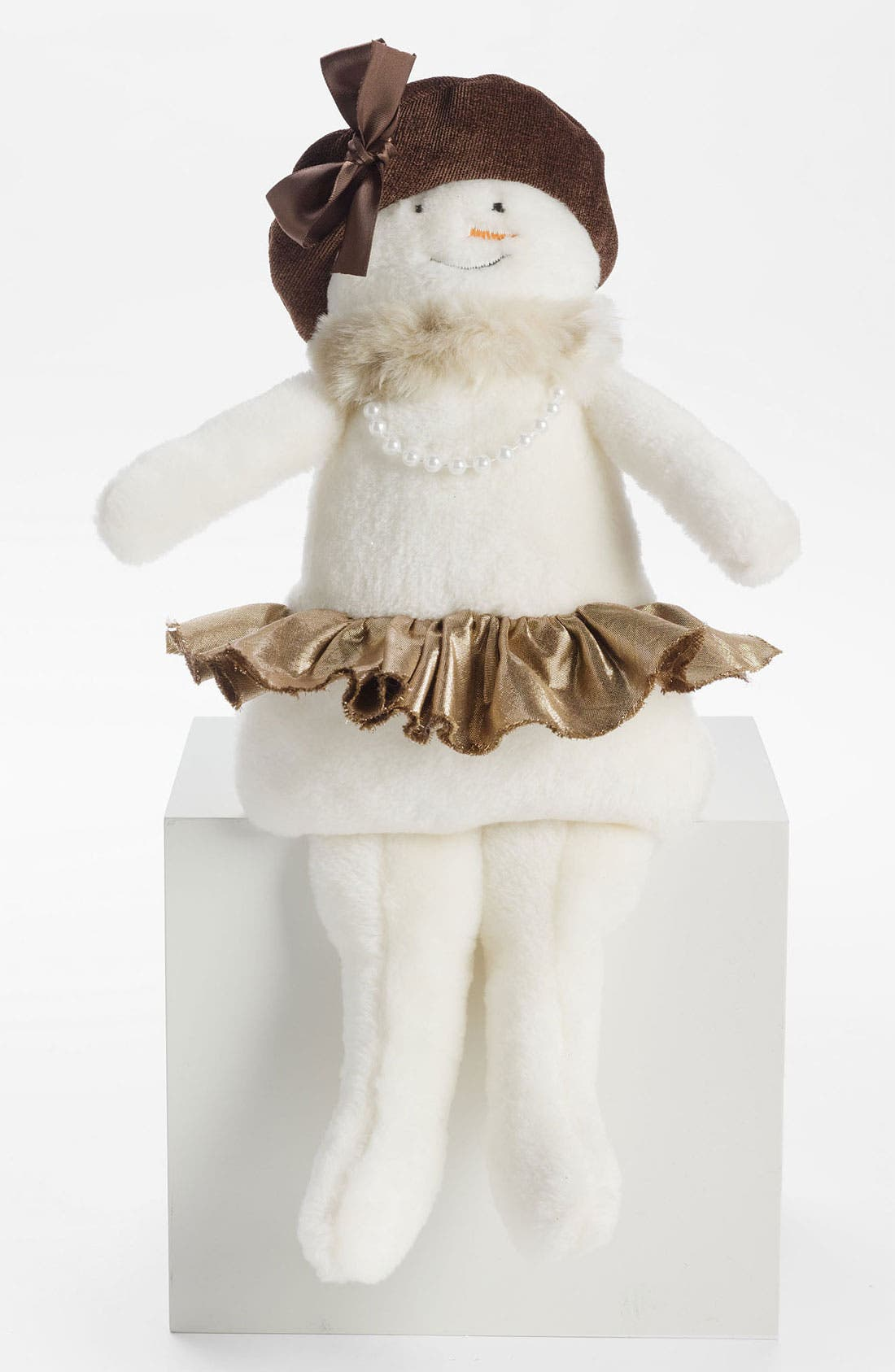 Alternate Image 1 Selected - Woof & Poof 'Small' Snowgirl Decoration