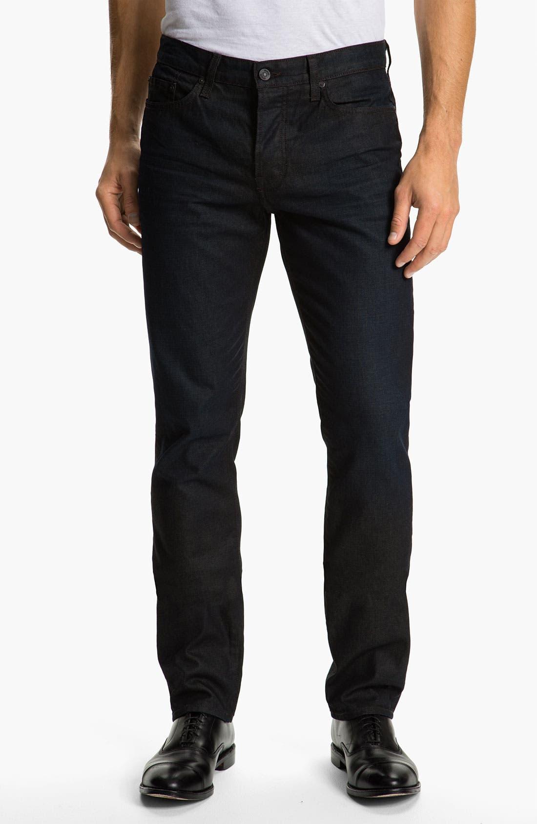 Alternate Image 2  - Vince Slim Straight Leg Jeans (Dark Clean)