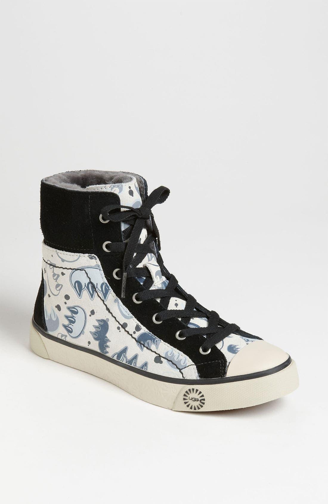 Alternate Image 1 Selected - UGG® Australia 'Stellah Graffiti' Sneaker (Women)
